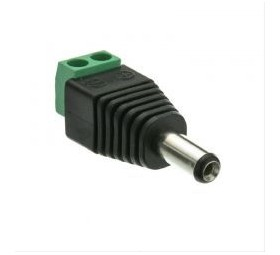 Jack Converter Adapter - Male 3.5mm 12 VDC