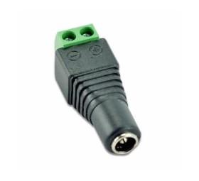 Jack Converter Adapter - female 3.5mm 12 VDC