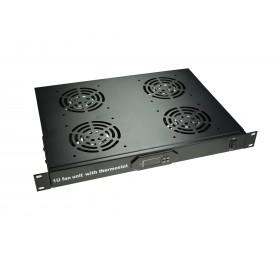 Termostato Digital - 1U - 4 Ventiladores