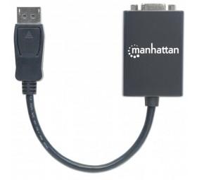 Adaptador DisplayPort M a VGA H / 15cm - Negro