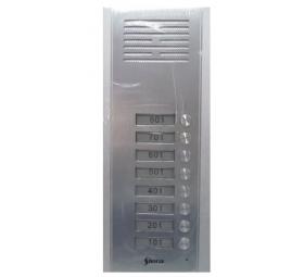 Panel Metalico de Embutir 8 Pulsadores