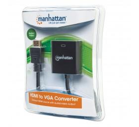 Adaptador HDMI M a VGA H c/audio