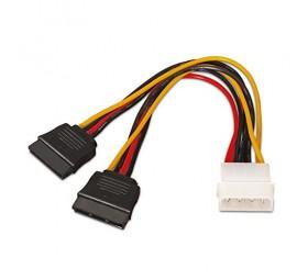 Cable SATA Alimentación en Y