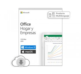 Office Home and Business 2019 - 1 Licencia ESD - PC / Mac