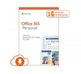 Microsoft Office 365 Personal - Licencia de suscripción (1 año) - ESD
