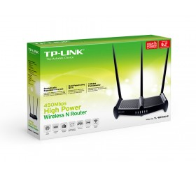 TP-Link TL-WR941HP High Power 450Mbps - Access y Repetidor