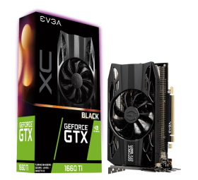 EVGA GeForce - GTX 1660 Ti XC Black GAMING - 6 GB DDR5