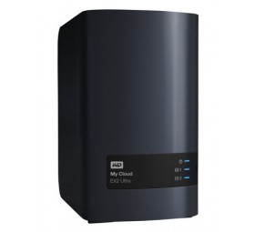 WD My Cloud EX2 Ultra WDBVBZ0000NCH - 2 compartimentos
